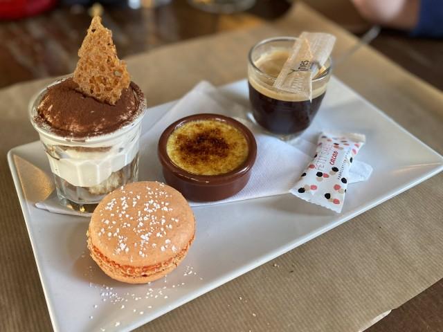 Café de la Place - Saint Rémy  Noisette gourmande