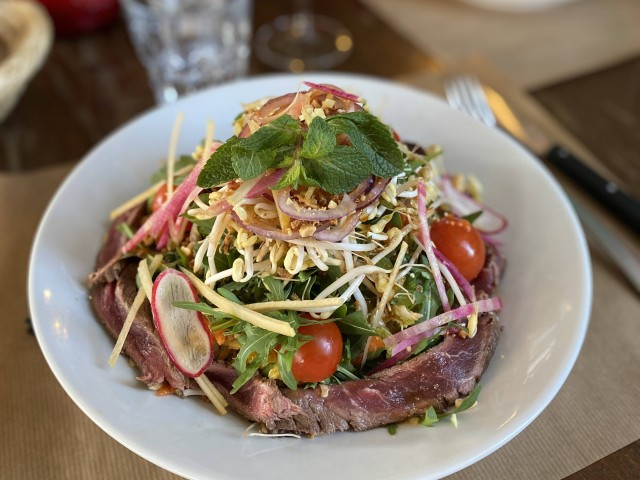 Café de la Place - Saint Rémy  Salade Thai